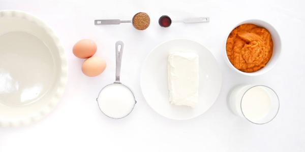 Pie Baking Ingredients