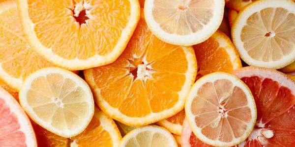 Orange, Grapefruit, Mandarin, Lemon, Lime Slices