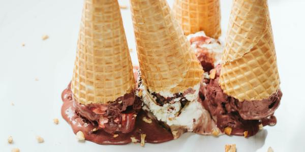 Ice Cream Cones Upside Down