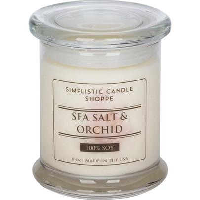 Simplistic Candle Shoppe Sea Salt & Orchid Candle