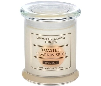 CandleFind Candle Review Simplistic Candle Shoppe Toasted Pumpkin Spice