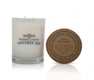 Bold Candle Scent Tobacco + Vanilla Bourbon from Seventh Avenue Apothecary