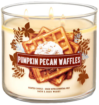 Pumpkin Pecan Waffles from Bath & Body Works pumpkin scented candle