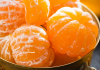 peeled mandarin oranges in bowl