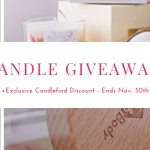 candle set giveaway myhomebody