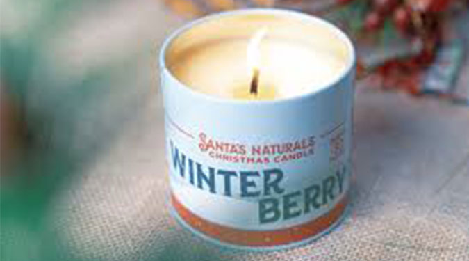 Santas Naturals Candles