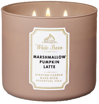 White Barn Marshmallow Pumpkin Latte pumpkin scented candle