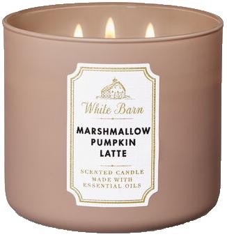 White Barn Marshmallow Pumpkin Latte pumpkin scented candle