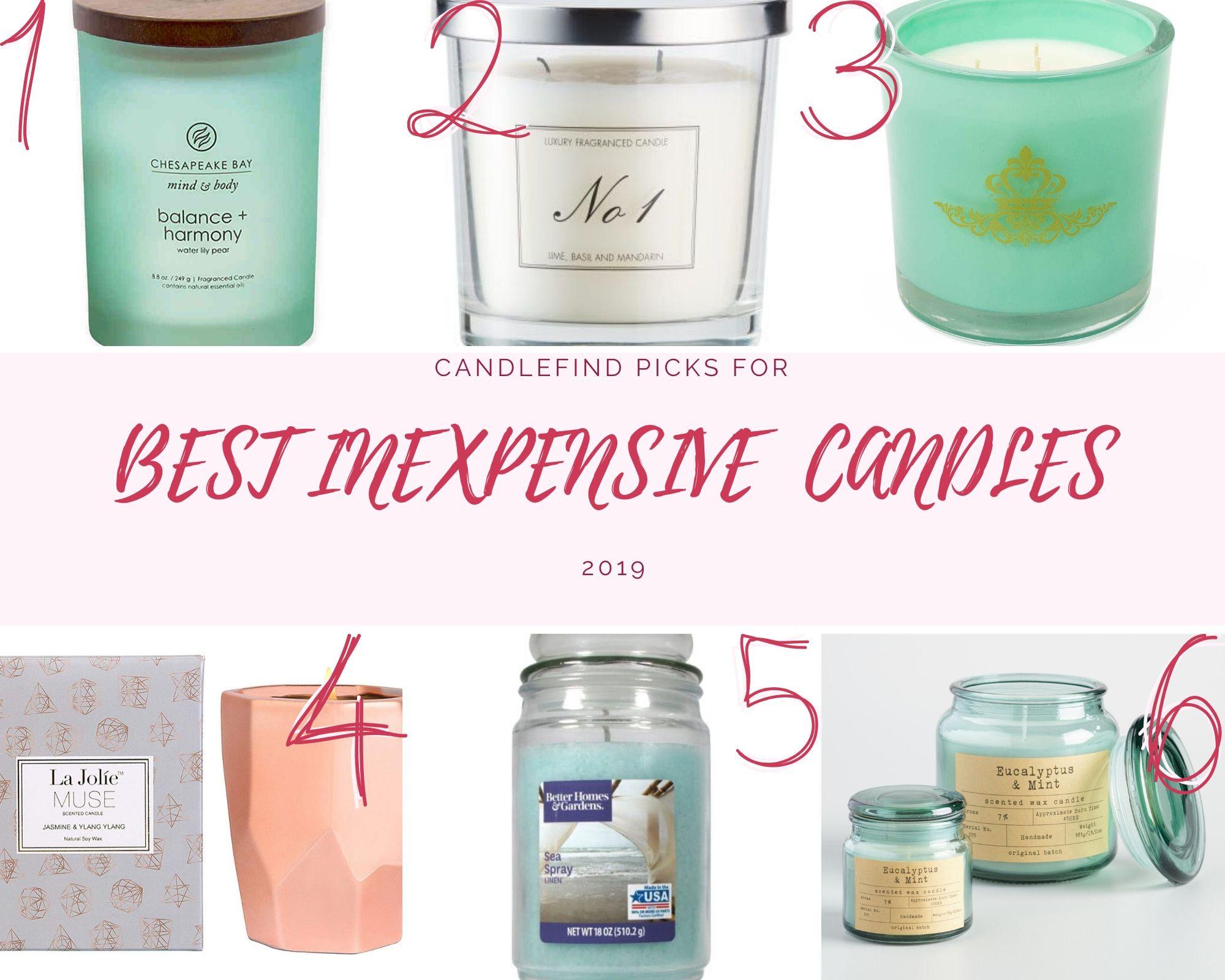 best inexpensive candles