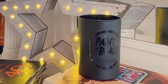 Evoke Paint it Black Candle