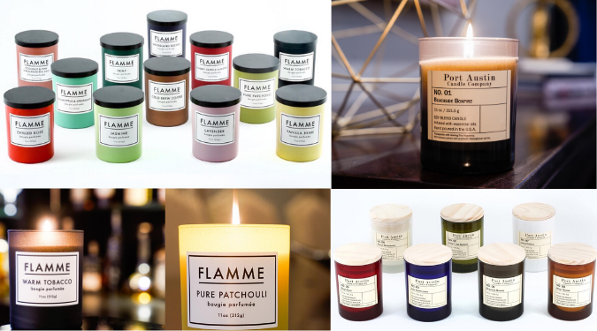 Flamme 12 Days of Christmas Candle Giveaway