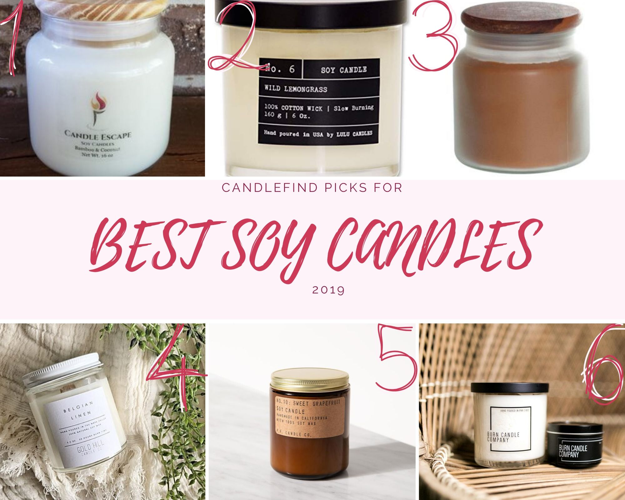 Best Soy Candles 2019