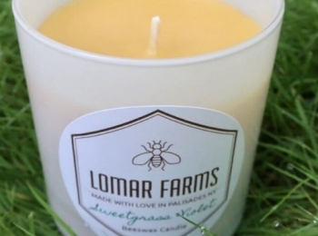 Lomar Farms Beeswax Candles