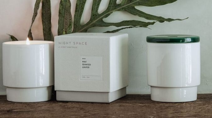 night space candles