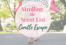 Candle Escape Strolling the Scent List