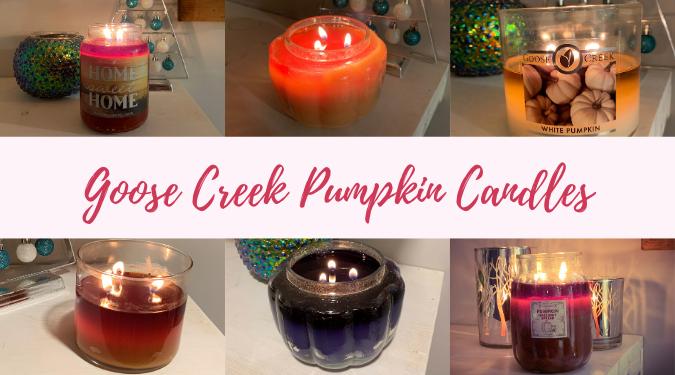 Goose Creek Pumpkin Candles