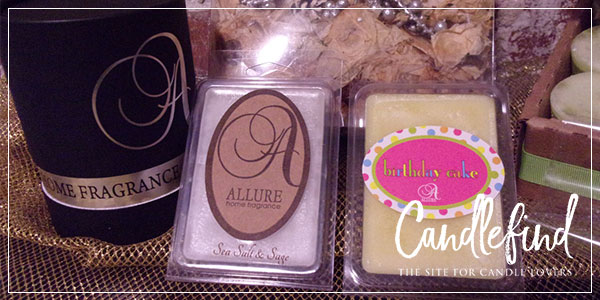 Allure Home Fragrance Candles & Wax Melts
