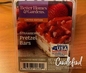 Better Homes & Gardens Strawberry Pretzel Bars Wax Melts