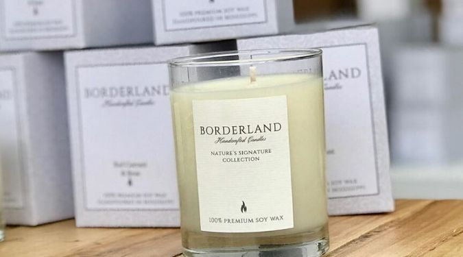 Borderland Candles Vegan Soy Candles