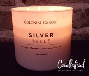 Colonial Candle Silver Bells Candle