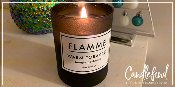 Flamme Warm Tobacco Candle