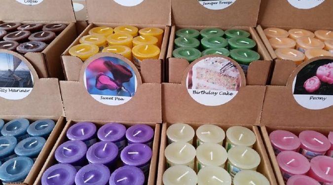 Flying Mallard Candles
