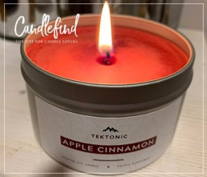 Tektonic Apple Cinnamon Candle