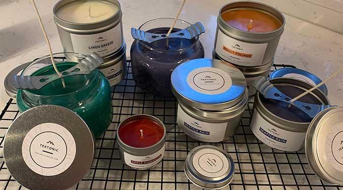 Tektonic Candles