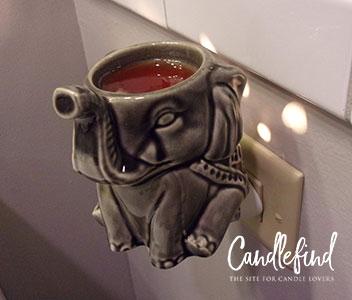 Elephant Wall Accent Wax Warmer