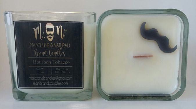 Man Brand Candles