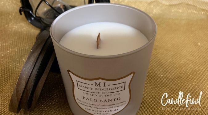 Manly Indulgence Palo Santo Candle