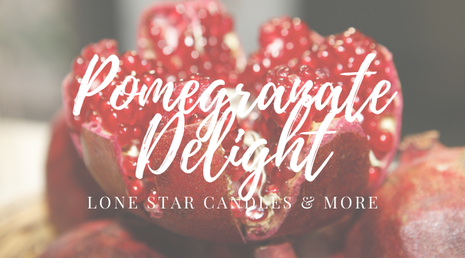 Pomegranate Delight Soy Candle Review
