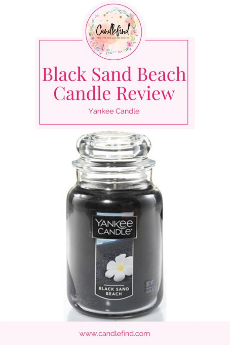 Black Sand Beach Yankee Candle Review
