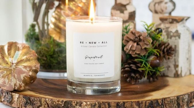 RE+NEW+ALL Candles