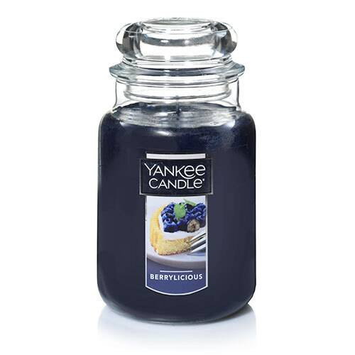 Yankee Candle Berrylicious large candle jar