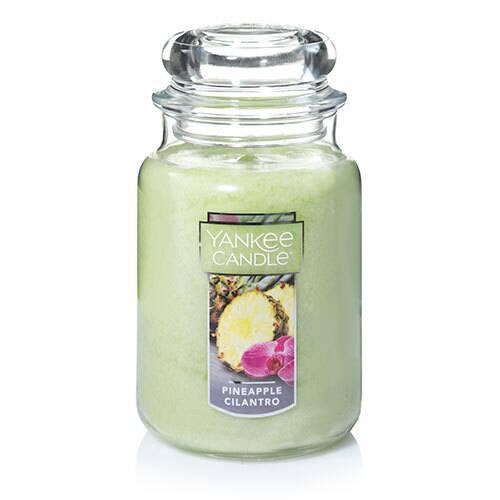 Yankee Candle Pineapple Cilantro large candle jar