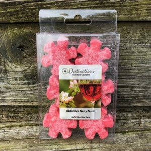 Palm Wax Melts Baltimore Berry Blush from Destinations Scented Candles
