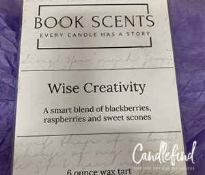 Book Scents Creativity Wax Melts