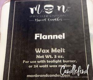 Man Brand Candles Flannel Wax Melts