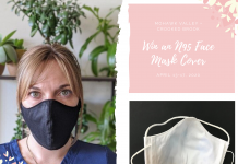 N95 respirator mask cover giveaway