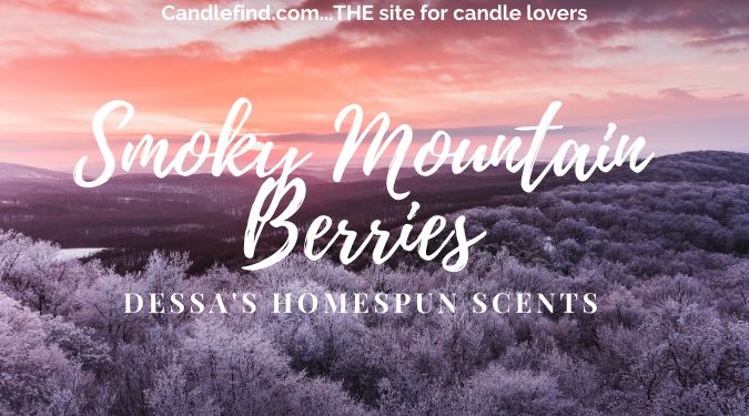 smoky mountain berries wax melt