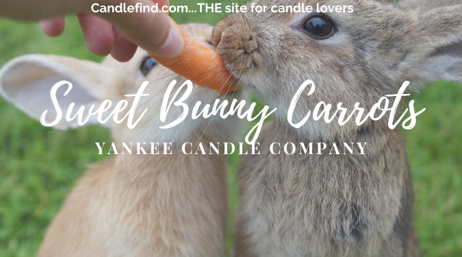 Sweet Bunny Carrots Yankee Candle large jar candle review
