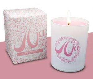 evoke luxury candles aja