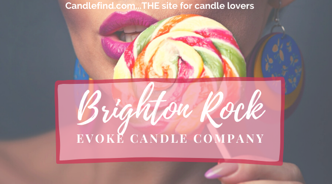 Brighton Rock Candle Review