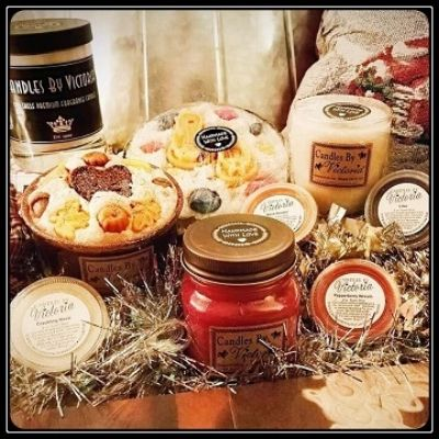 Candles By Victoria candle collection