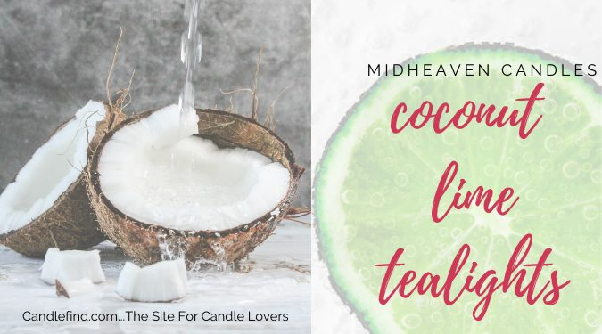 Coconut Lime Tealights Candle Review