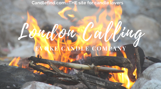 London Calling Candle