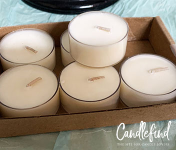 Midheaven Coconut Lime Tealight Candles