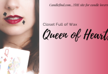 Queen of Hearts Closet Full of Wax melt review