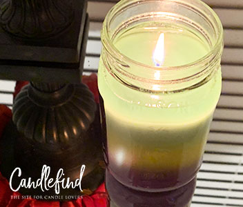 Sweet Tooth Scents Dazed And Confused Triple Layer Candle Burning